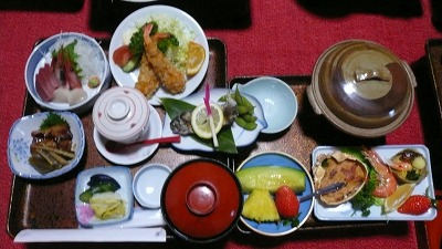 20080120 高砂館 夕食
