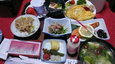 20080121 高砂館 朝食