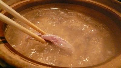 鯖のしゃぶしゃぶ 2