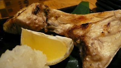 銀座すし和 カマ焼