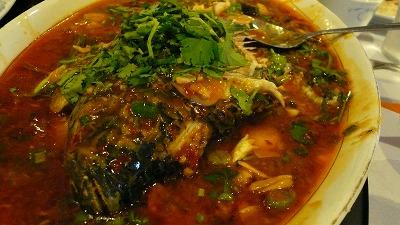 20080512 LittleSichuan 川魚のあんかけ