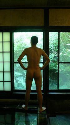 20080713 寒の地獄温泉 仁王立ち