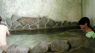 20080713 河原湯温泉 浴場