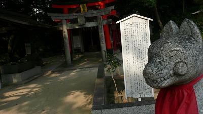 20080715 住吉神社 ニヤリ