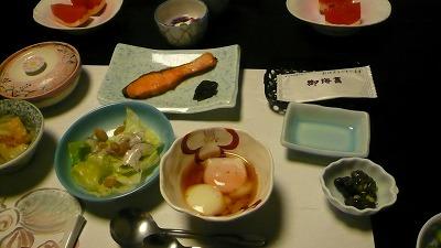 20080724 貝掛温泉 朝食