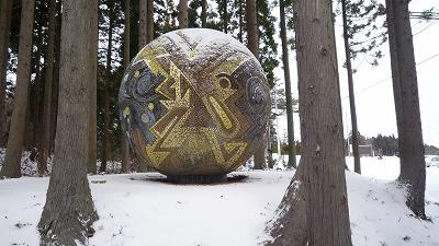 090111 真山神社 でかい玉