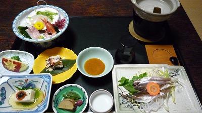 090111 雄山閣 夕食