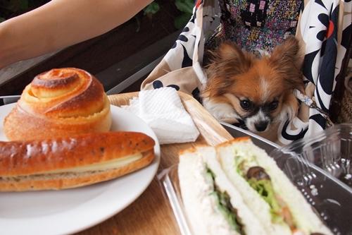 サンドイッチなど。