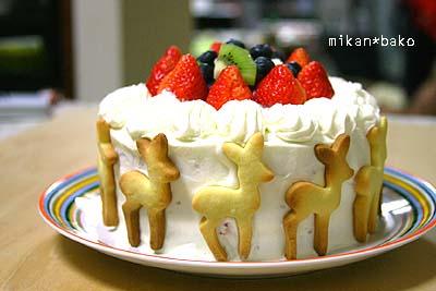 鹿おとこケーキ