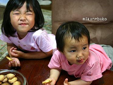 姪ちゃんとクッキー