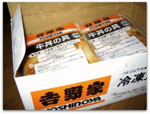 吉野家牛丼セット