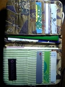折り紙カードケース