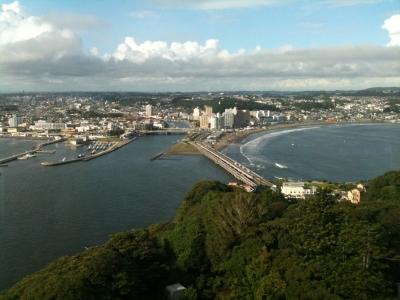 江ノ島展望台からの景色