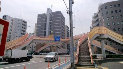 桜新道歩道橋