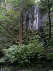 こちらが不動の滝の『女滝』