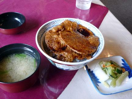 レルトランナウシカの豚丼