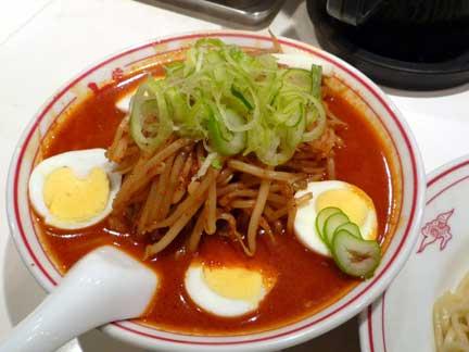 冷やし味噌卵麺