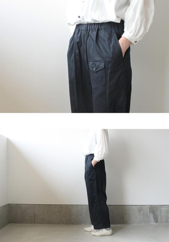 ゴーシュ カツラギ ワイド パンツ