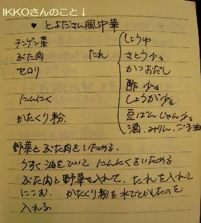 IKKOさんレシピ