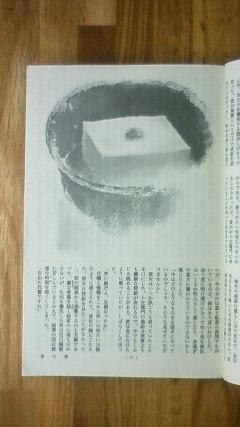 乙川優三朗著「笹の雪」挿画 豆腐の絵