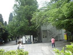 大学構内風景