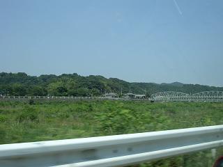 中津川(あゆ釣りで有名な川)