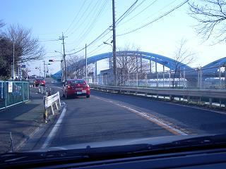 二子橋付近