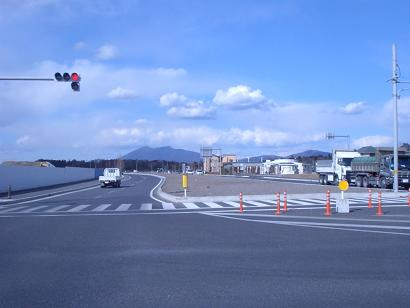 筑波山が見える