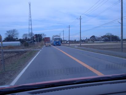 片側1車線の道