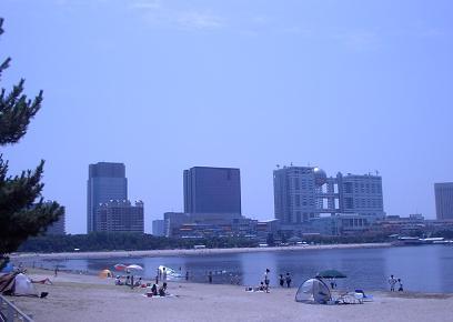 お台場海岸