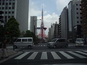 桜田通りから見る