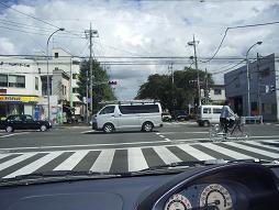 青梅街道交差点