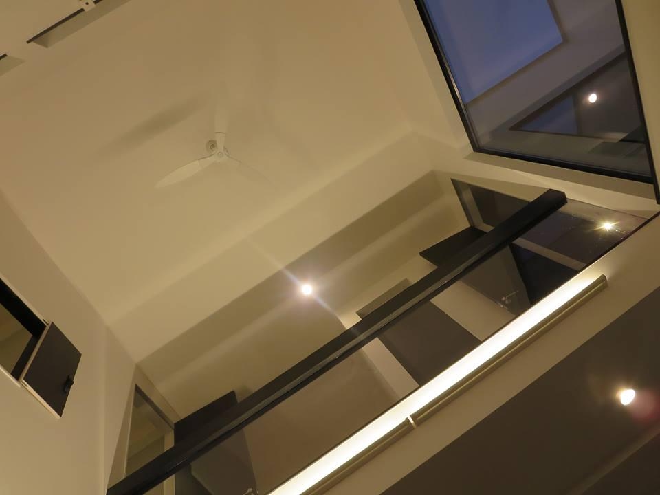 吹抜けのある家 house with atrium space yonemura architects studio