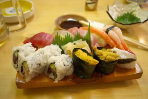 志津川の寿司