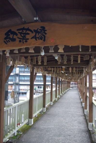 杖立温泉紅葉橋