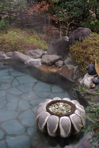 杖立温泉ふくみ山荘露天風呂