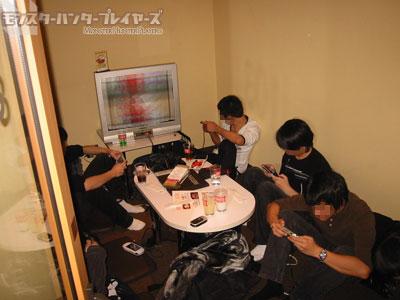 第3回MHP2札幌オフ会の様子