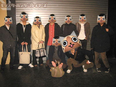 第4回MHP2G札幌オフ会・記念撮影