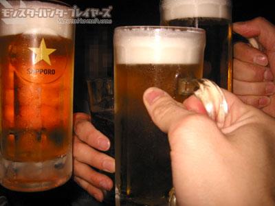 タピオカさんPresents 第1回モンプレ飲み会の様子