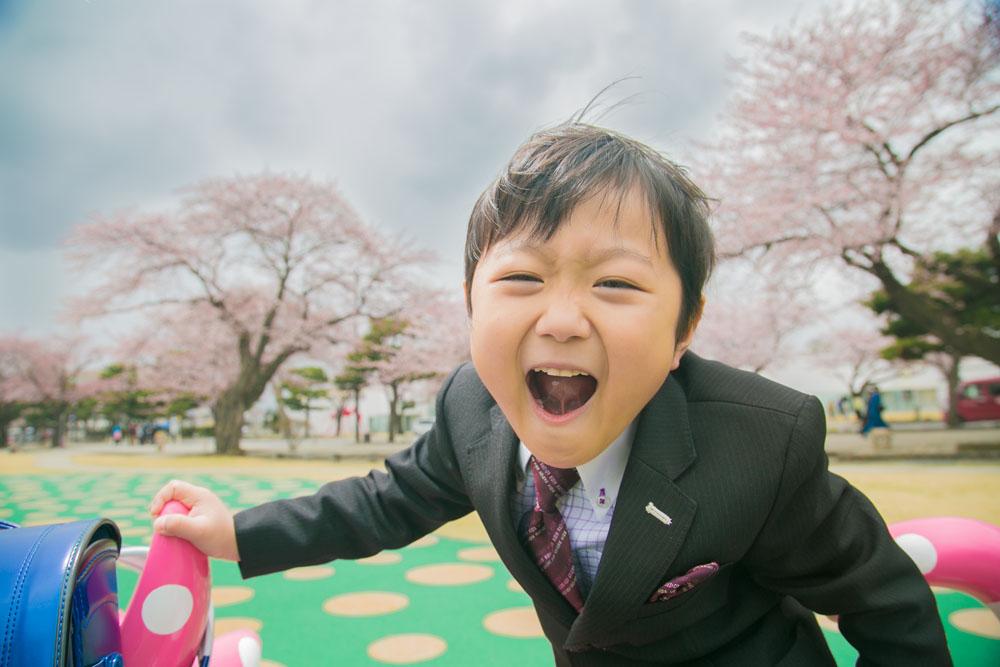 桜ロケ 桜並木で入学式ってオシャレですよね?
