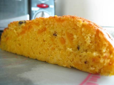 かぼちゃと小豆のケーキ3