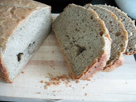 黒ゴマきなこパン2