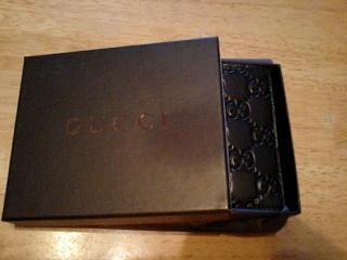 グッチの財布。お値段は7万オーバー