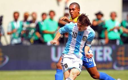 メッシ、ブラジル相手にハットトリック
