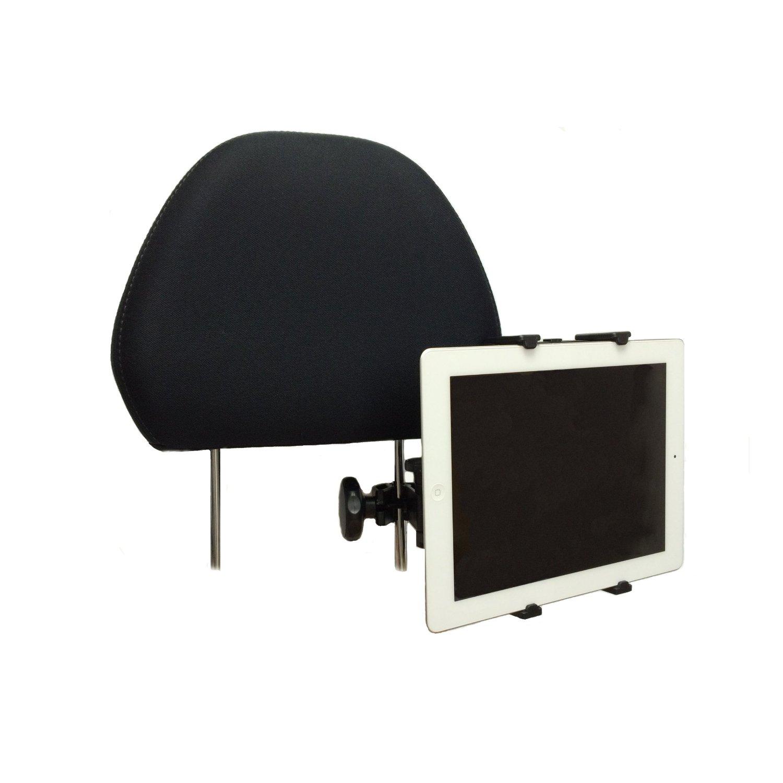 タブレットPC 後部座席用 4.3インチ~11.6インチ 車載アダプターヘッドレスト アーム マウント&ホルダー ユニバーサルタイプ