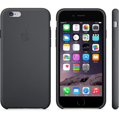iPhone 6シリコーンケース - ブラック