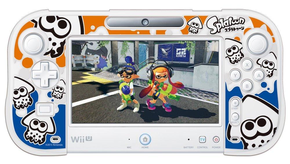 シリコンカバーコレクション for Wii U GamePadスプラトゥーン Type-A