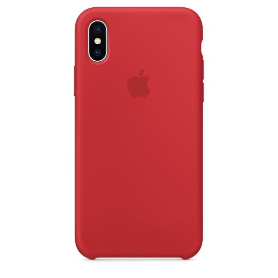 iPhone Xシリコーンケース - (PRODUCT)RED
