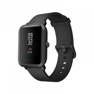 Xiaomi Huami AMAZFIT Bip Lite Version Smart Watch  -  INTERNATIONAL VERSION  BLACK