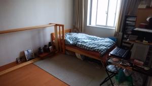 寝室の整理
